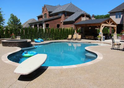 Pools & Pavilion – Macomb Twp, MI