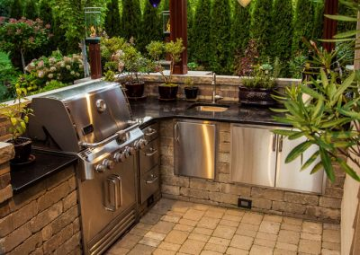 Outdoor Kitchen – Troy, MI